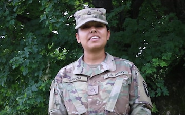 PFC Karina Garcia Fourth of July shout out
