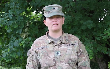 SPC Dawn Koontz send Fourth of July shout out