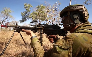 Joint Operations: U.S. Marines train with Australian Forces during Talisman Saber 17