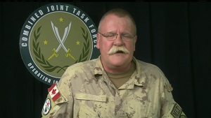 OIR update brief with BG Anderson, Canadian Forces