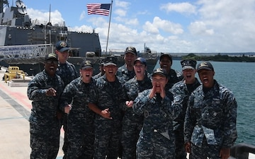 Pearl Harbor Navy Shout Out For Warrior Games