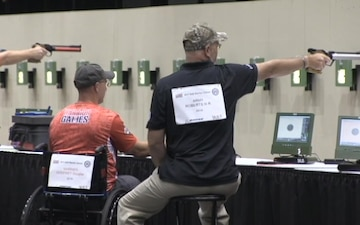 Department of Defense Warrior Games Air Rifle Competition