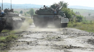 Getica Saber BROLL M1 Abrams