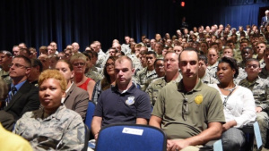 Black Knights Welcome New Commander