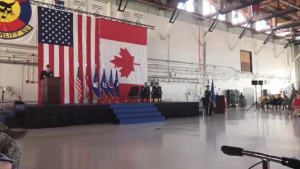 21 Space Wing Change of Command