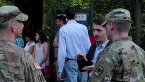 Dragoon Guardian Romanian-US Ceremony