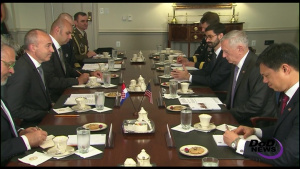 Mattis Hosts Croatian Defense Minister