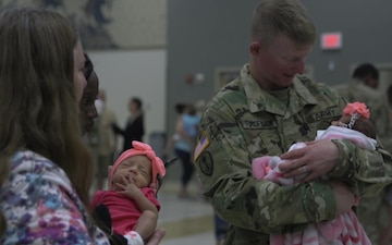 First Wave of Oklahoma Guardsmen Return from Ukraine - Package