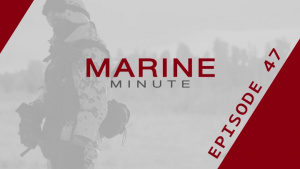 Marine Minute, July 13, 2017