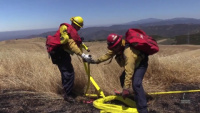 Camp Pendleton Assistant Fire Chief discusses purpose of controlled burns