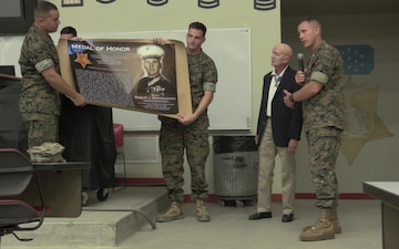 SOI-West dedicates Hall of Heroes to Medal of Honor Recipients (B-ROLL)