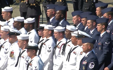 The Military Parade on Bastille Day Overview (TV)