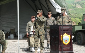 B-Roll: SPMAGTF-SC holds opening ceremony for MOUT construction site