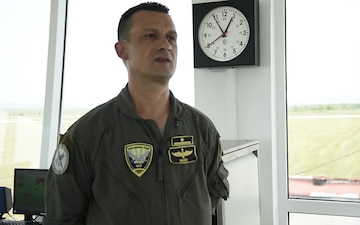 Bulgarian Air Force Officer Talks About the Joint Tactical Air Control for exercise Saber Guardian 17
