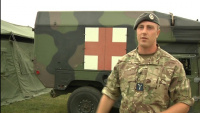 Royal Air Force Airmen Support U.S. Army at Saber Guardian 2017 MASCAL