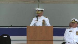 Pacom Commander Gives Remarks at Ship Commissioning