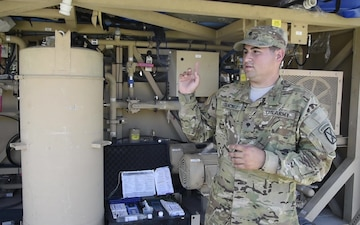 Water Dogs Make Potable Water for 10th Combat Aviation Brigade