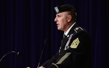 "State Command Sgt. Maj. Defines ""The Six Ps"" Leadership Philosophy"