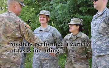 Soldiers from the 295th Ordnance Company Complete Annual Training at Crane Army