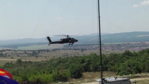 Task Force Falcon conducts CALFEX with Bulgarian Land Forces during Saber Guardian