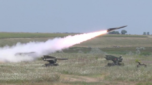2-263 ADA US, Romania Live Fire