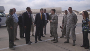 Governor Roy Cooper of North Carolina Visited Seymour Johnson AFB