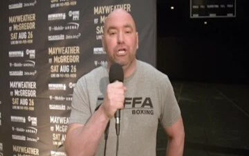 Dana White sends greeting to U.S. Army Reserve Soldiers