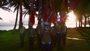 3rd Marine Division at Asan Beach