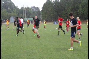 USMC Sports Leadership Academy host soccer clinic in Fayetteville, NC