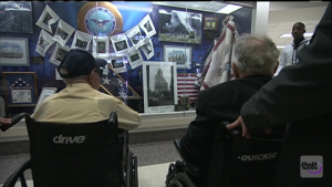 USS Arizona Survivors Hosted at Pentagon
