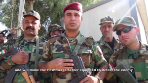 Operation Inherent Resolve 2017 British Forces train Peshmerga Forces on Military Operations