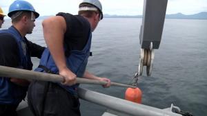 Japanese and US Sailors Practice Mine Warfare