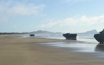 Beach Landing of Talisman Saber
