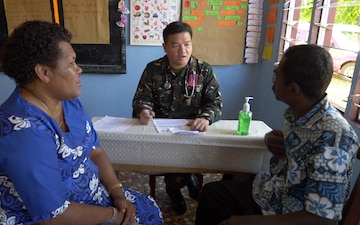 PACANGEL 17-3 Service Members Work Together to Provide Medical Care to Fiji