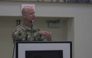 More than 130 Oklahoma Guardsmen return home from Europe - Speech