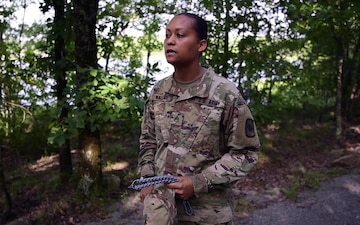 Female Soldier Earns Spot in Arkansas National Guard History (Package)