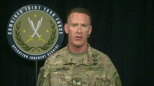 Inherent Resolve Spokesman Briefs Reporters