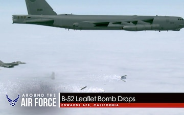 Around the Air Force: Launch Vehicles / Student Loan Forgiveness / B-52 Leaflet Drops / B-1B Talisman Saber