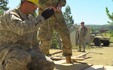 Army Reserve Engineers Partner with YMCA of the Rockies
