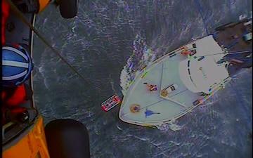 Coast Guard medevacs man 100 miles East of Nantucket