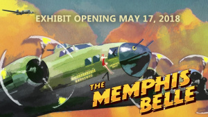 B-17F Memphis Belle tail Turret Install