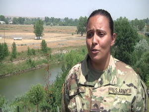 ARMEDCOM Soldier highlight: Cynthia Lewis