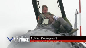 Around the Air Force: Show of Force / F-16 Training Deployment / Cold War POW Memorial