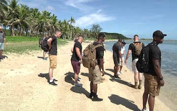 The Top Enlisted Marine visits home island of Guam