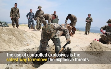 EOD techs train for explosive situations