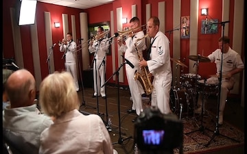 Navy Band Northwest's Brass Band Goes Live