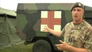 Saber Guardian 17 MASCAL: Training For Triage, U.S.-U.K. Partnership