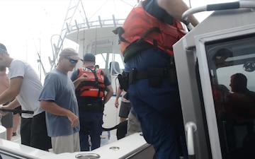 Coast Guard Enforces Fishing Regulations