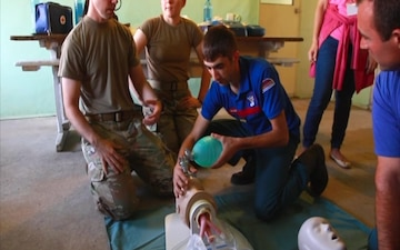 KSNG, British soldiers train firefighters in Armenia (1/3)
