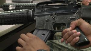 SrA Robert Allore, Combat Arms Instructor